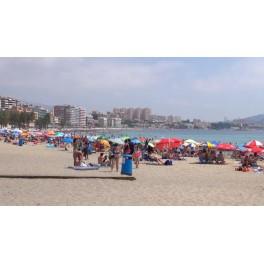 Playa centro Villajoyosa
