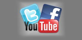 redes sociales y youtube