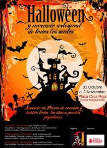 fiesta de Halloween foguera La Ceramica