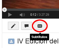 subtitulos en youtube