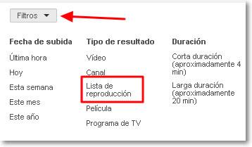 lista-de-reproducción-filtros