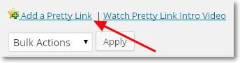 añadir pretty link