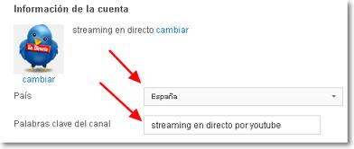 optimizar cuenta de youtube