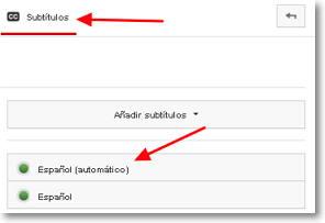 optimizar subtítulos