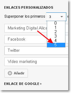 enlaces personalizados en youtube
