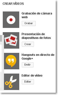 crear videos
