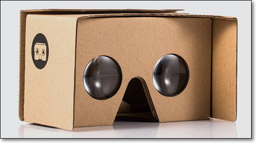 cardboard de google