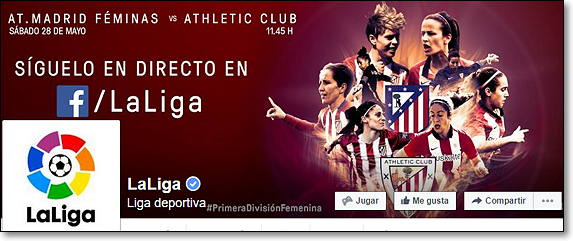 futbol streaming facebook