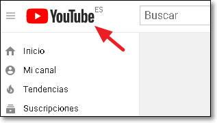 logo youtube españa