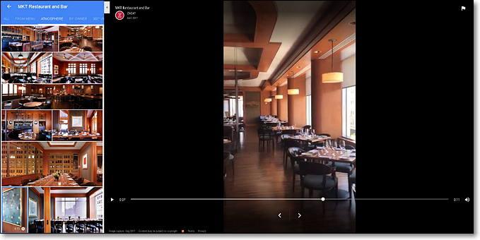 google maps ambiente restaurante