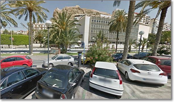 alicante street view