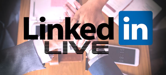 Linkedin Live video en directo