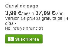 pagar en Youtube