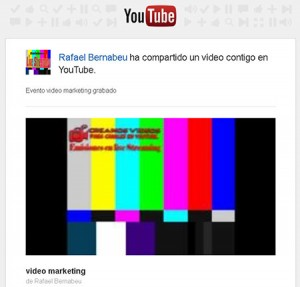 mandar video por correo