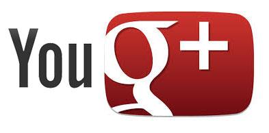 youtube y google +