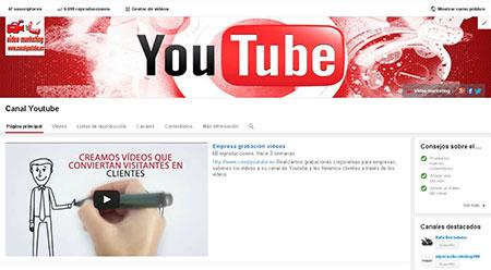 nuevo diseño youtube
