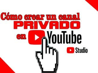 crear canal privado en youtube