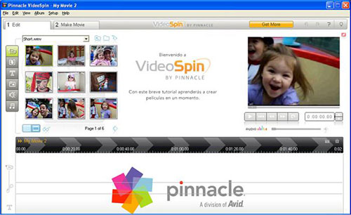 videSpin de pinnacle
