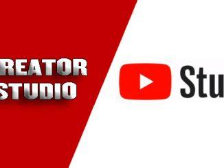 creator studio en youtube