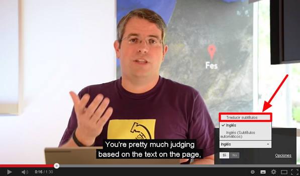 traduccion subtitulos youtube tutorial