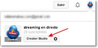 creator studio borrar suscriptores