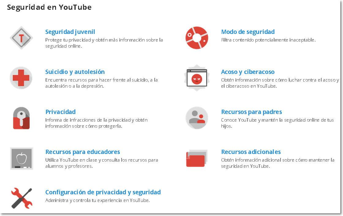 seguridad en Youtube 6