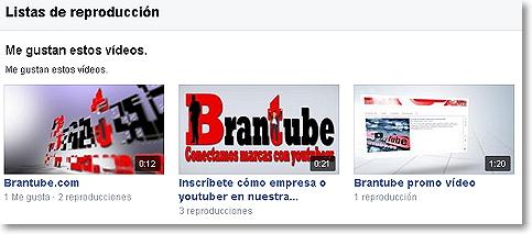 listas de reproducción en facebook