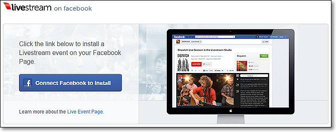 transmitir video por facebook