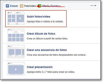 subir video 360 a facebook
