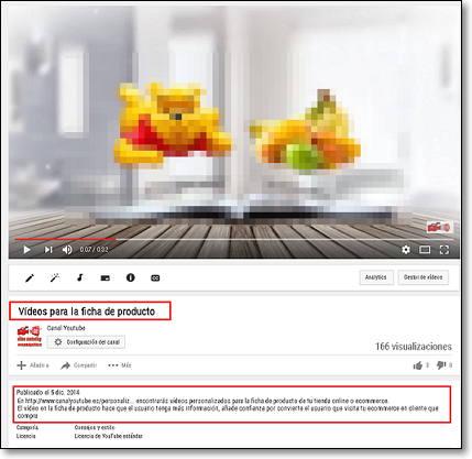 metadatos youtube