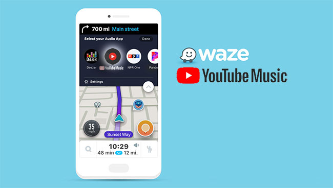 waze+youtube music