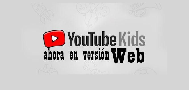 youtube kids para web