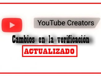 verificación canales en youtube - actualizado