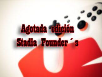 agotada stadia founders edition