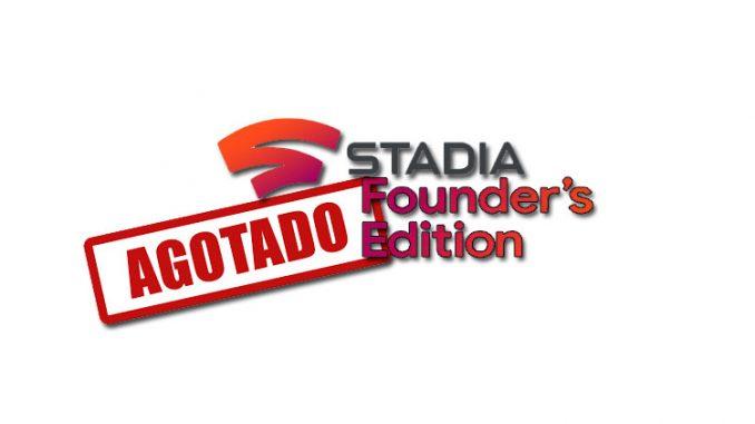 agotada edición stadia founder fundadores