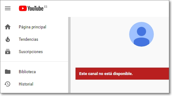 canal youtubers hackeado