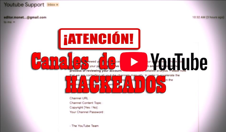 carta nanales hackeados en youtube