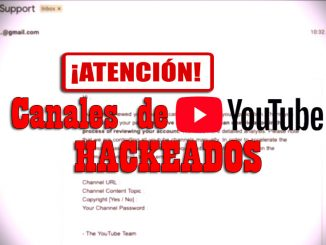 carta de hackers en youtube