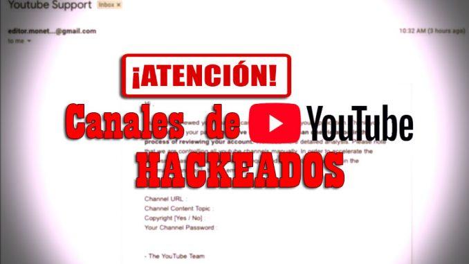 carta de hackers en youtube