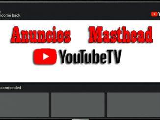 anuncios masthead en youtubeTV