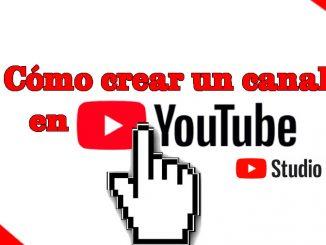 como crear un canal en youtube con youtube studio