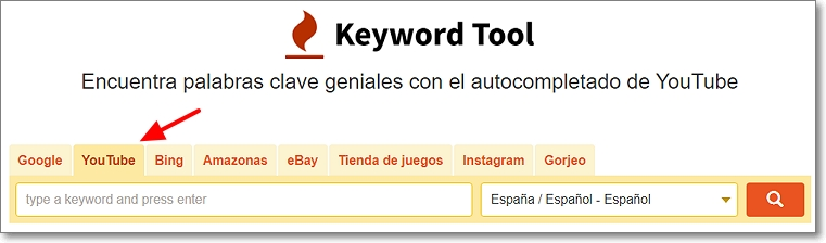 keywordtool youtube
