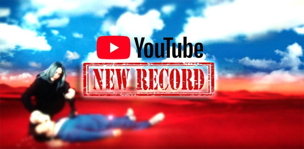 nuevo record comentarios en youtube