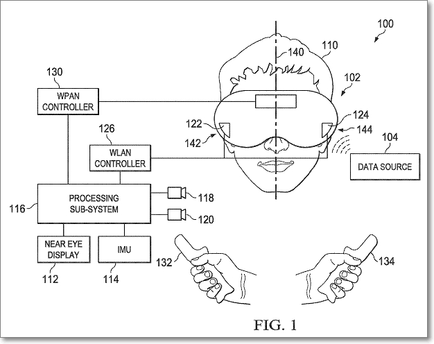patente google gafas realidad virtual