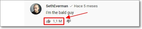 récord comentarios en Youtube