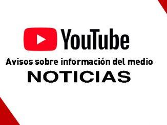 INFORMACION DEL MEDIO EN YOUTUBE