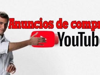 boton de compras en Youtube