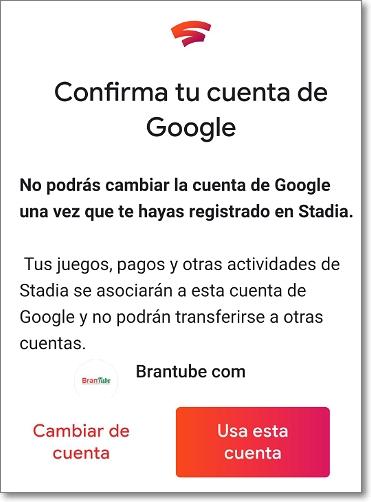 Confirma tu cuenta de Google