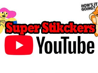 super stickers en youtube