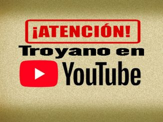 virus troyano en youtube